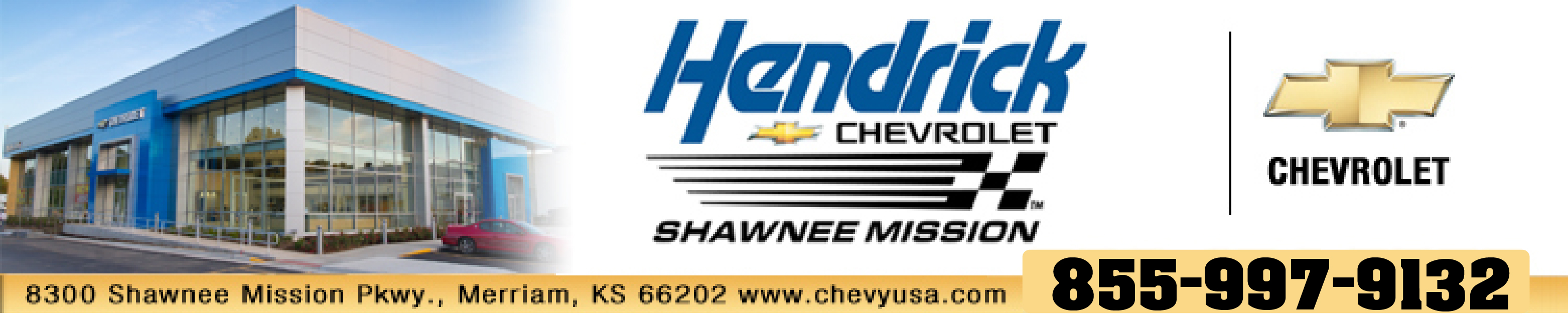 Click the logo to visit Hendrick Chevrolet's very comprehensive web site